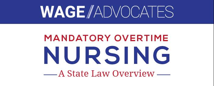Mandatory Overtime In Nursing Infographic Header