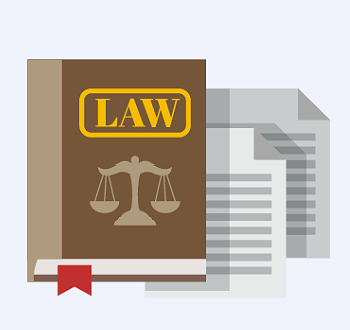 Law Book Graphic