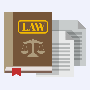 Legal Book Graphic